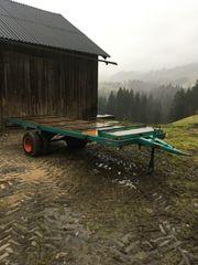 Traktor Anhänger Brennholz Anhänger Transport