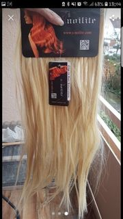 clip in Extensions Mittelblond