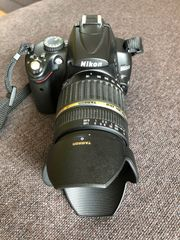 Nikon D5000 Spiegelreflexkamera