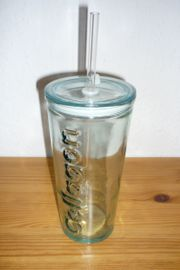 Trinkglas Cellagon mit Deckel und