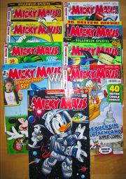 Comics Micky Maus Spiderman Star