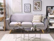 Sofabezug für 3-Sitzer BERNES Samtstoff