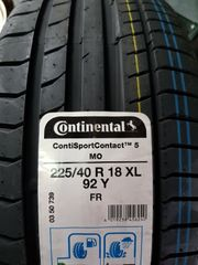 continental Sport contact 5 MO