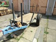 Traktoranhänger Holzhänger Rückewagen