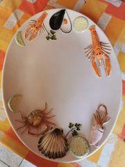 Super schöner Meerestier Teller
