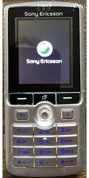 Sony Ericsson K750i Handy silber
