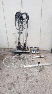 Abwasserpumpe mit Schneidwerk Tauchmotorpumpe mit