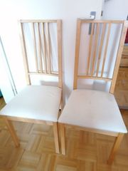 2 IKEA Stühle zu verschenken