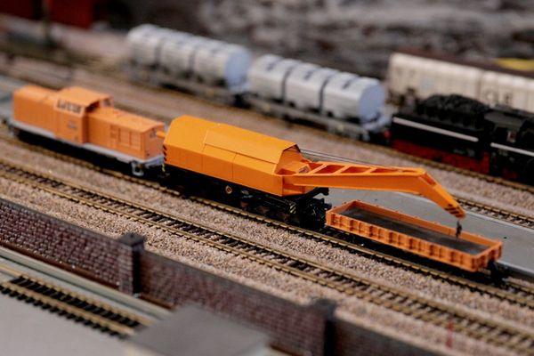 TT 1 120 DR Eisenbahndrehkran