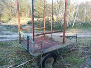 Hochsitz Jagdwagen mobil Anhänger Ansitz