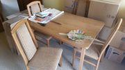 Esstisch und 4 Stühle