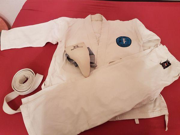 Kinder Karate Anzug Größe 128-140