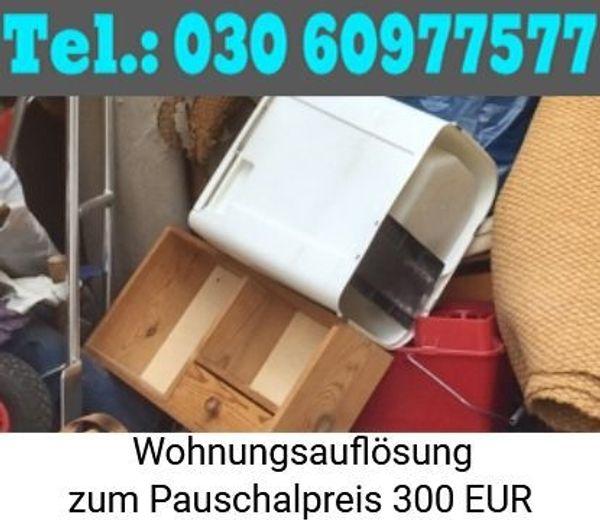 Berlin Sperrmüll Wohnungsentrümpelung zum Pauschalangebot