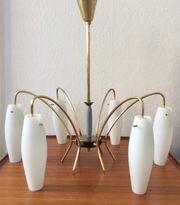 Vintage Lampe Hängelampe Kronleuchter Mid-Century