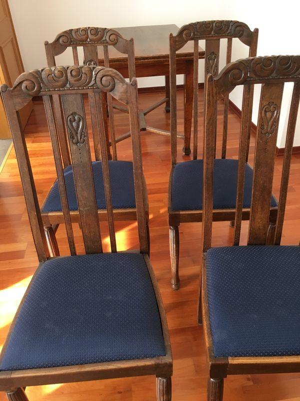 Antike Englische Esszimmer Stühle In München Stilmöbel