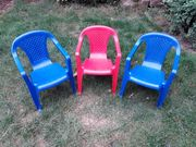 Kinder-Gartenstühle 3 Stück