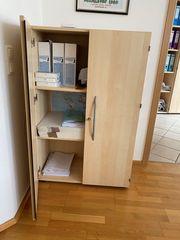 Büroschrank Ahorn abschließbar