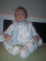 Reborn Puppe 55 cm zu