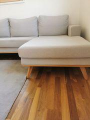 Skandi-Style - Couch - grau