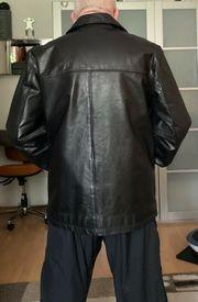 schwere Herren Leder-Jacke Mauritius Größe
