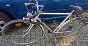 28er Herren Fahrrad weiß Rennlenker
