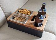 Sofa Tablett - Bier Kiste - Couch