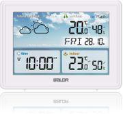 Wetterstation mit Außensensor und Farbdisplay