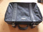 Airline Koffer Reisekoffer Kurzreisekoffer schwarz
