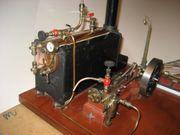 Modell- Dampfmaschine voll funktionsfähig