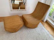 Designer Sessel aus Bambus