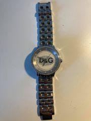 Dolce Gabbana Damen Uhr Silber