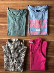 Kleiderpaket T-Shirts Mädchen Größe 152