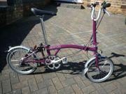 Brompton M3L Klapp S-Bike