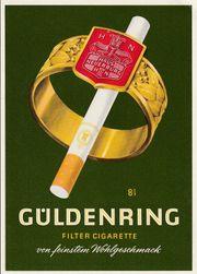 Güldenring Zigaretten Werbeartikel