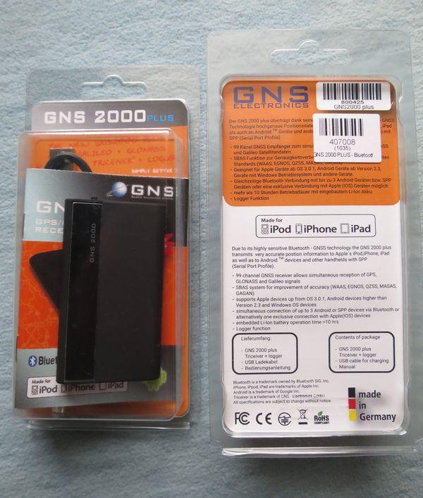 GNS 2000 PLUS Data Logger