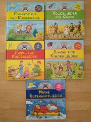 Kinder Liederbücher inkl CD NEU