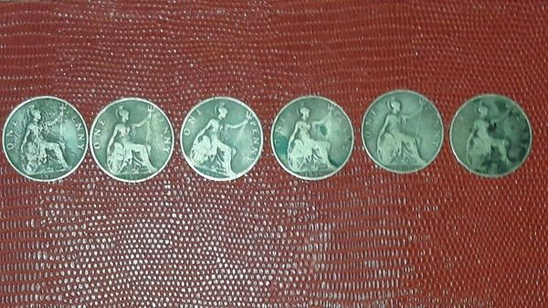 One Penny Queen Victoria Set