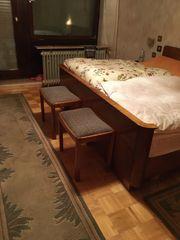 Schlafzimmer 50 iger Jahre mit