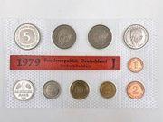 Kursmünzensatz - BRD 1979 - J - Hamburgische