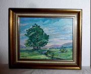 Gemälde Kinzig Haslach Schwarzwald 3