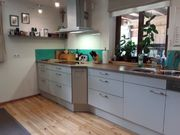 Große Marken Küche mit Elektro-Geräten