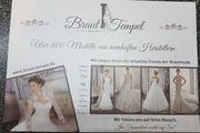 100 EUR Gutschein Brautkleid Braut