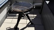 Holzkohle Grill BBQ