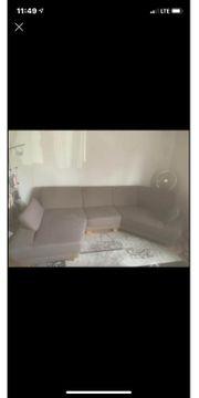 gebrauchtes gut erhaltenes Sofa zu