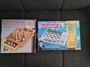 Schachcomputer und Kassette