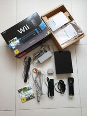 Nintendo Wii -Sports Pack- schwarz