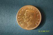 5 Shilling Silbermünze Südafrika 1949