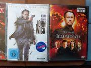 8 DVD s und 2