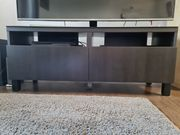 BESTA TV-Bank mit Schubladen 120x42x48cm