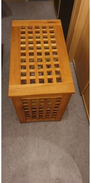 Wäschebox Holz